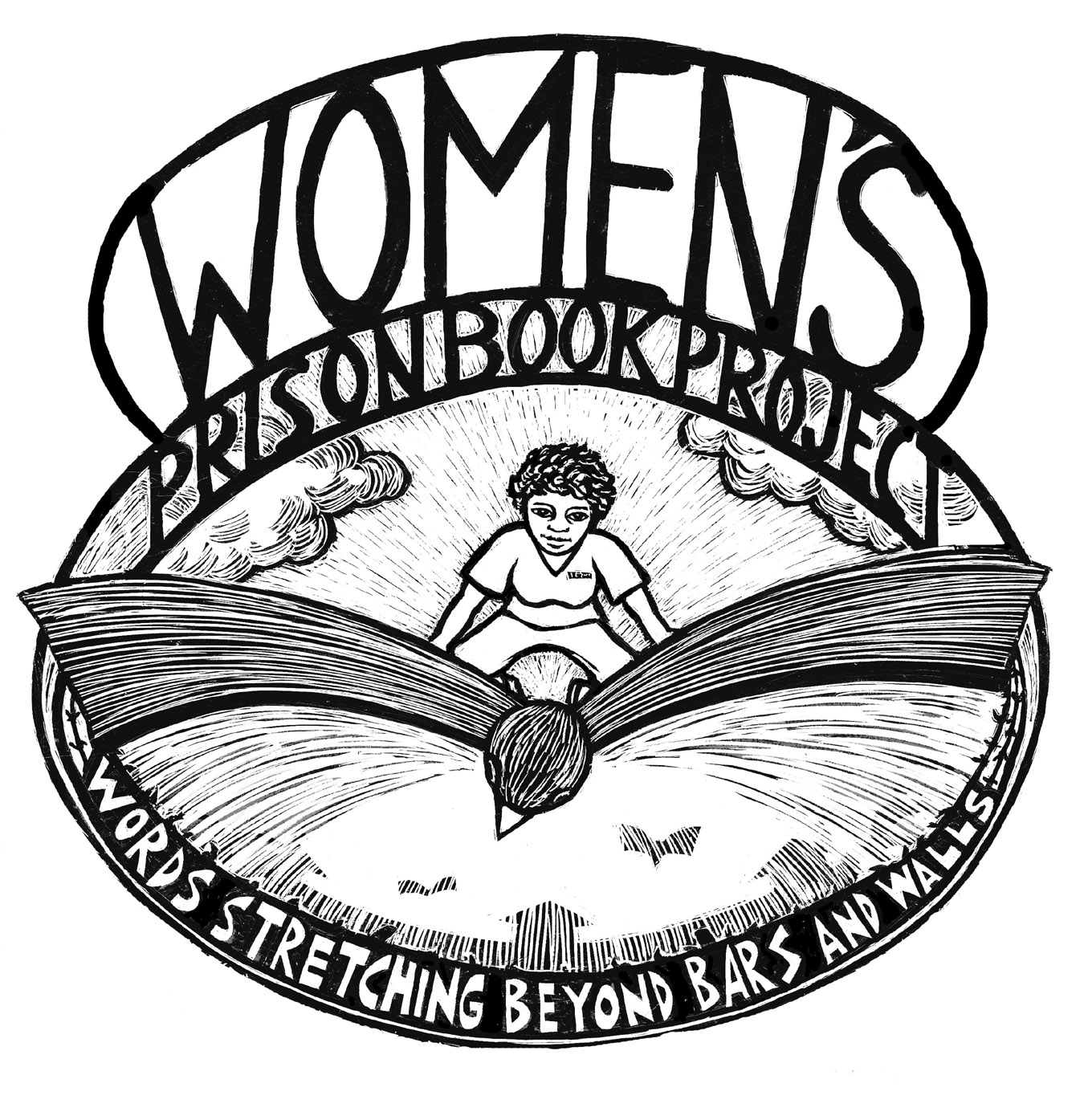 Womens Prison Book Project Logo